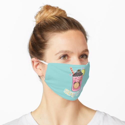 Rosa Taubenschlag Maske