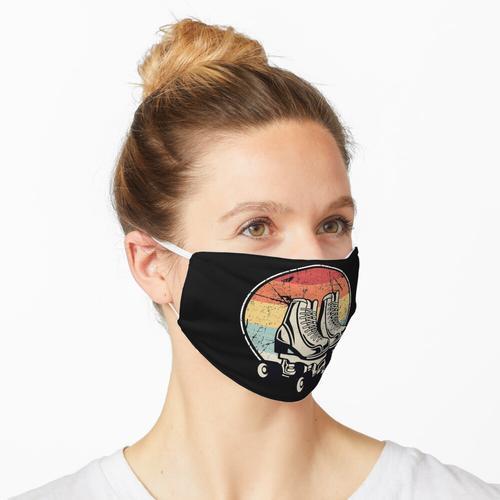Rollschuhschuhe Maske