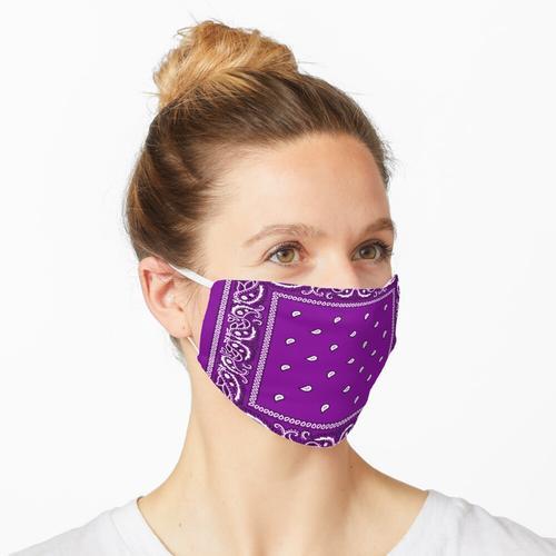 Bandana Lila Maske