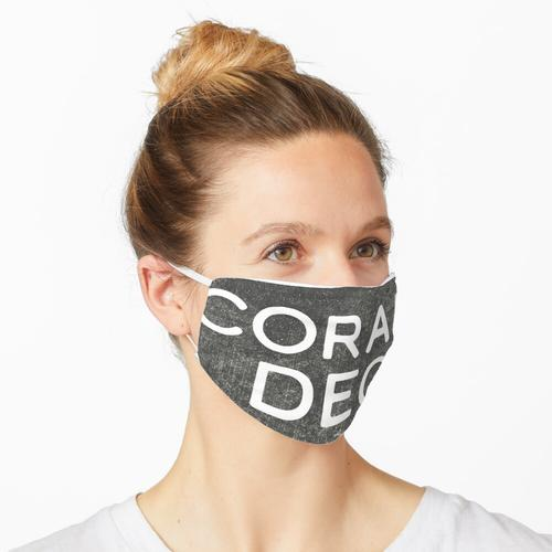 Coram Deo (getragen) Maske