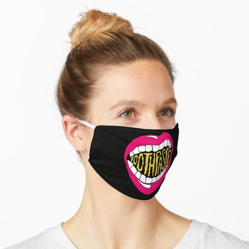 Zahnpasta Zine Maske