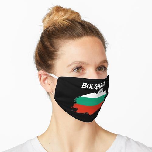 Bulgarien bulgarisch Fahne Flagge Maske