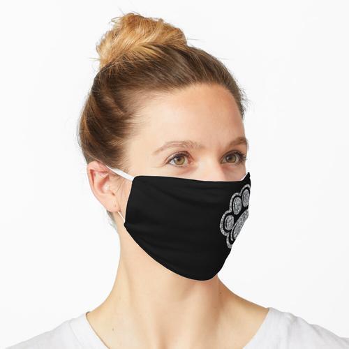 Glitzertatze Maske