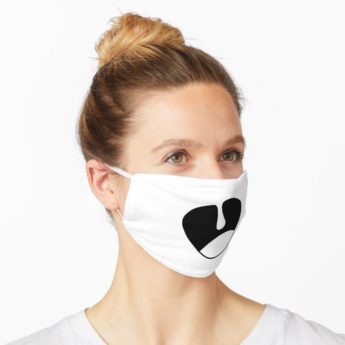 weit geöffneter Mund Maske