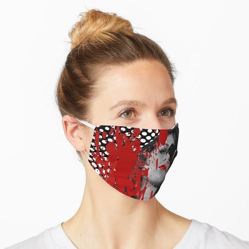 Binden Sie das Band um den Baum. Papierkorb Nr. 41 Digitale Collage Maske