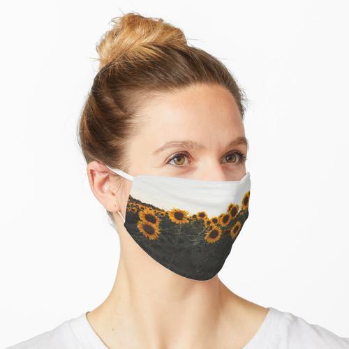 Sonnenblumenfeld 2 Maske