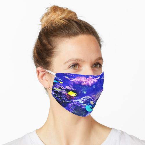 Aquarium Leben in der Unterwasserwelt Maske