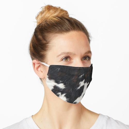 Kuhfell Flecken Maske