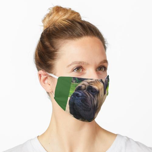 ZERZOGENE TEPPICHMASCHINE Maske