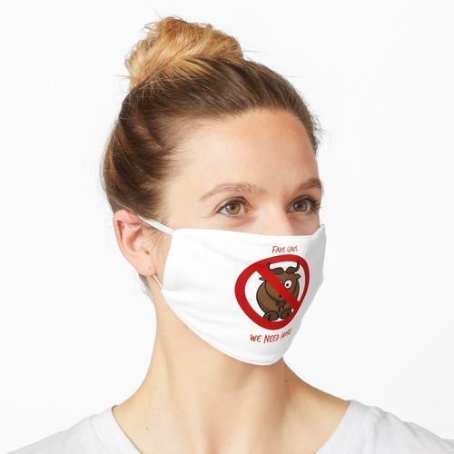Gefälschter Gnus Maske