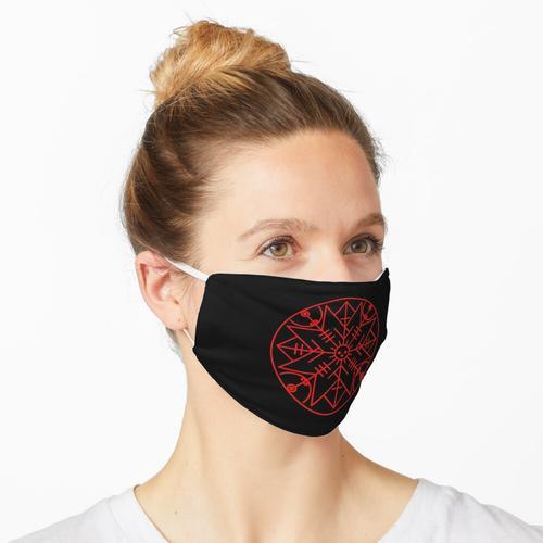 Wikinger Symbol Schutz Maske