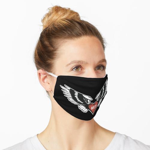 Tierarzt-Herz-Flügel - Tierarzt Maske