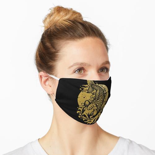 Goldener Koi-Fisch Maske