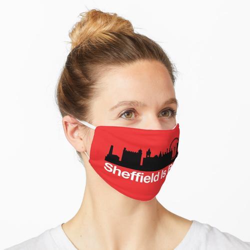 Sheffield ist rot Maske