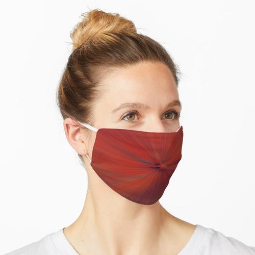 Red Burst Maske