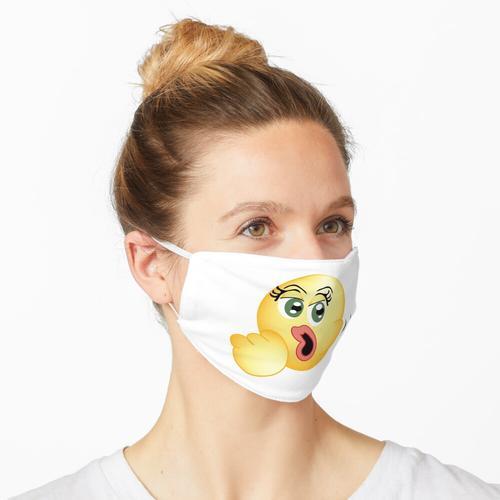 Orale Fixierung; Der Blowjob Emoji Maske