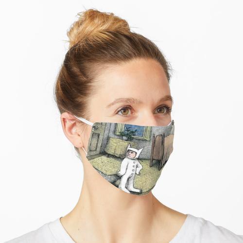 Wo die wilden Kerle Geburtstagsdekorationen sind Maske