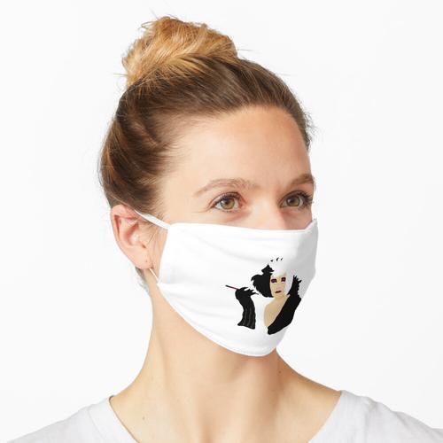 Cruella Evil Maske