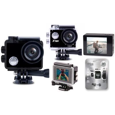 Caméra de sport HD / Avec carte mémoire 16 Go