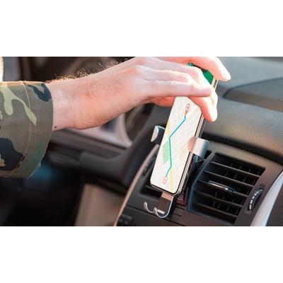 Support pour téléphone spécial grille de ventilation de voiture : Support magnétique minimaliste 5540
