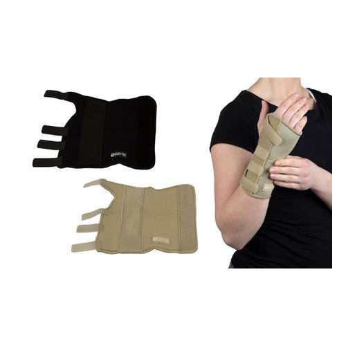 Handgelenkstütze: linkes Handgelenk / Creme / Gr. S