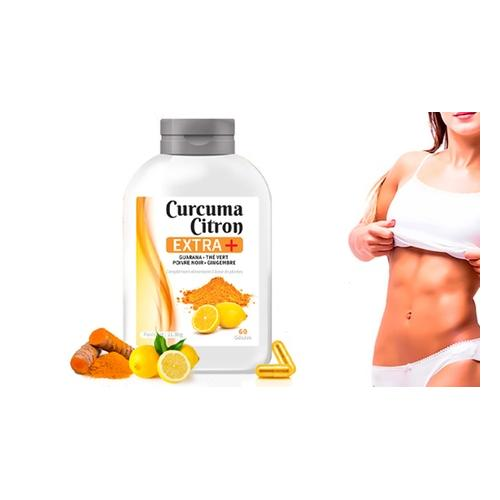 Kurkuma und Zitrone+ Kapseln: 720 Kapseln (12 Monate)
