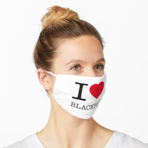 I LOVE BLACKPOOL Maske