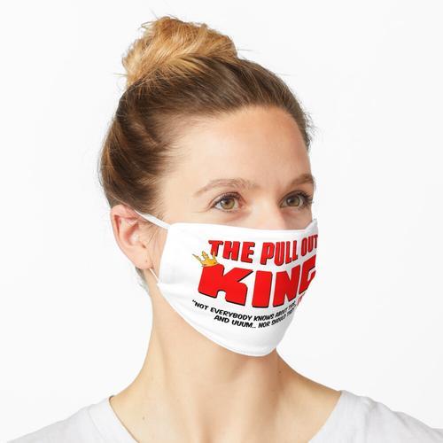 Der ausziehbare König Maske