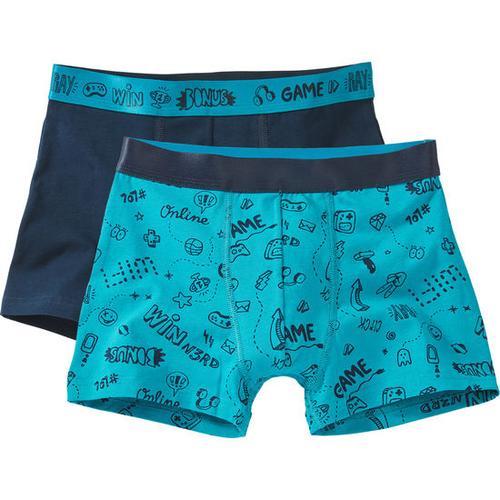 Boxershorts, blau, Gr. 164/170