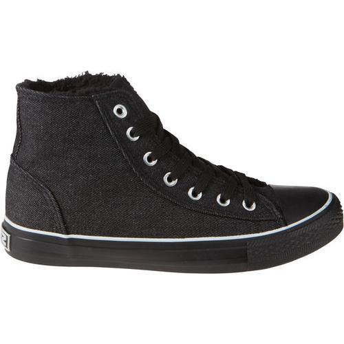 Schuh gefüttert, schwarz, Gr. 43