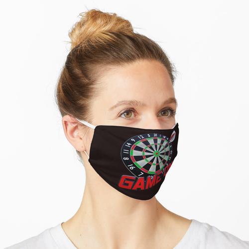 Dartscheibe - Game on Maske