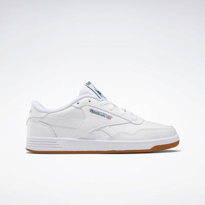 Reebok Women's Club MEMT Shoes in White/Clover Green/White Size 6 - Court,Lifestyle Shoes