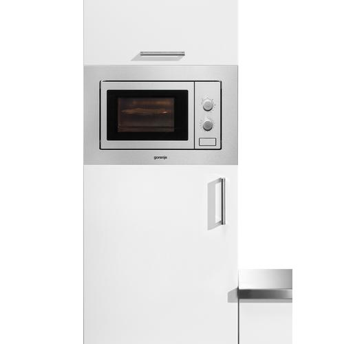 GORENJE Einbau-Mikrowelle BM171E2X, Grill-Mikrowelle, 1050 W silberfarben Mikrowelle SOFORT LIEFERBARE Haushaltsgeräte