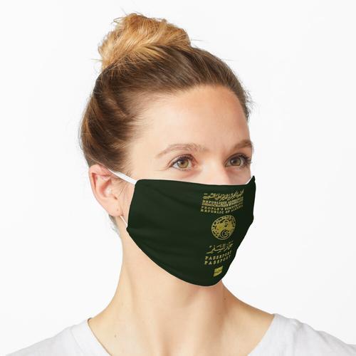 Algerischer Pass v2 Maske