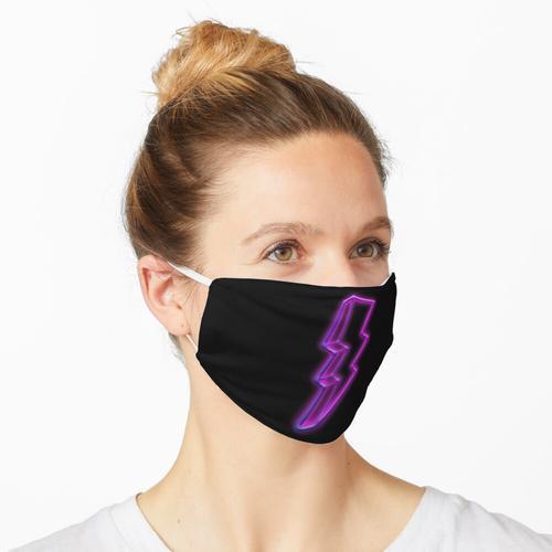 Leuchtreklame Blitz Maske