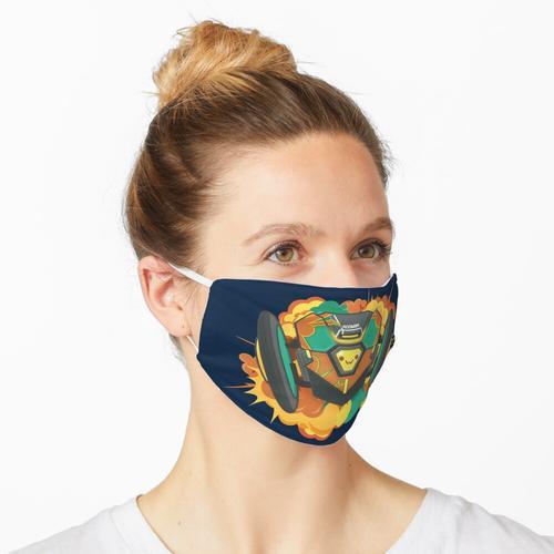 Explodierender Roomba Maske