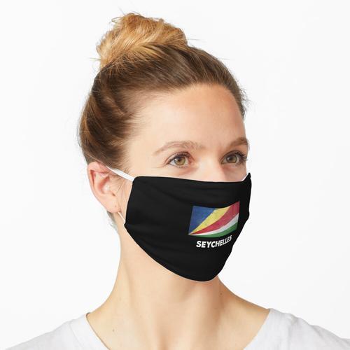 Seychellen Flag Design | Seychellen-Design Maske