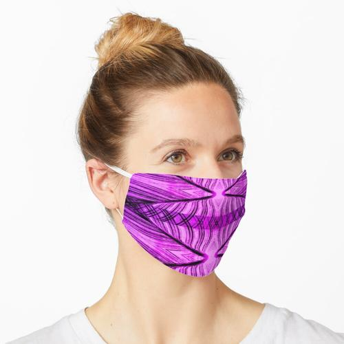 ICH TRÄUME VON JEANNIE ROSA / PURPLE GENIE FLASCHE Maske