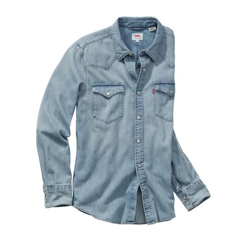Levi's Herren Westernhemd Barstow blau L, M, S, XL, XXL