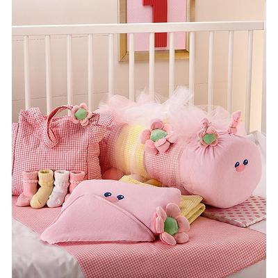 Baby Caterpillar Blanket & Bag Set- Pink or Blue Pink Caterpillar Blanket & Bag Set by 1-800 Flowers