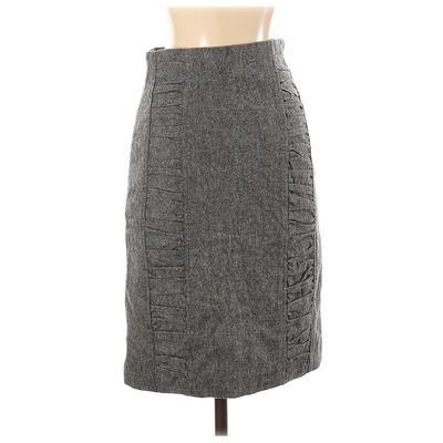 BB Dakota Formal Skirt: Gray Sol...