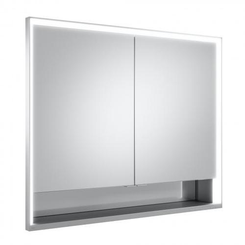 Keuco Royal Lumos Unterputz-Spiegelschrank mit LED-Beleuchtung B: 100 H: 73,5 T: 16,5 cm 14314171301, EEK: A+