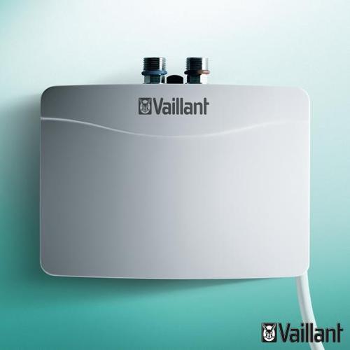 Vaillant miniVED H 3/2 N Mini-Elektro-Durchlauferhitzer Leistung: 3,5 kW, drucklos 0010018600, EEK: A