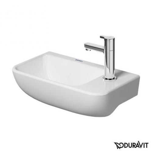 Duravit ME by Starck Handwaschbecken B: 40 T: 22 cm weiß, ohne Überlauf 0717400000