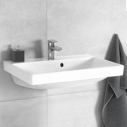 Villeroy & Boch Avento Waschtisch B: 55 T: 37 cm weiß mit Ceramicplus 4A0055R1