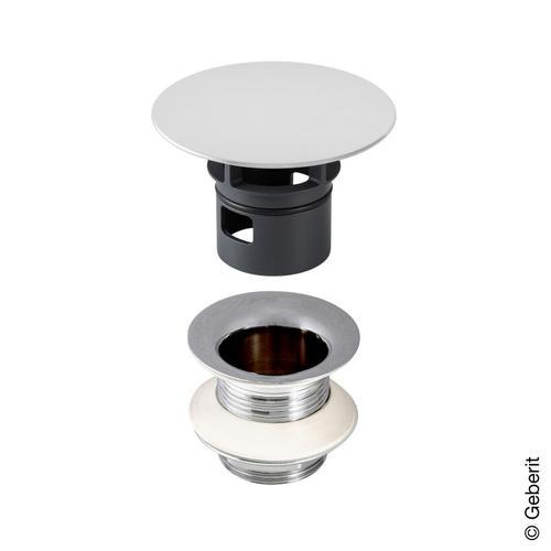 Geberit Universal Ablaufventil mit freiem Auslauf, Länge 50 mm 152050211