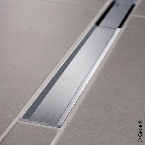 Geberit CleanLine 20 Duschrinne edelstahl poliert / edelstahl gebürstet, für Duschrinne: 30 - 160 cm 154453KS1