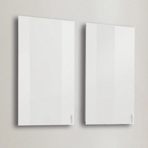 Wodtke feel warm Infrarotheizung B: 60 H: 180 cm weiß, 850 Watt 002 190