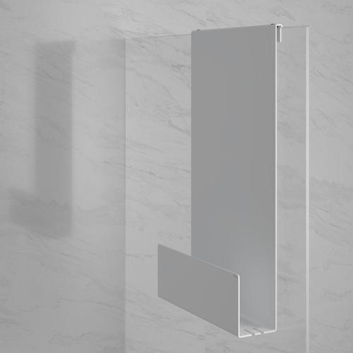 Keuco Duschablage B: 320 H: 600 T: 90 mm weiß 24951510000