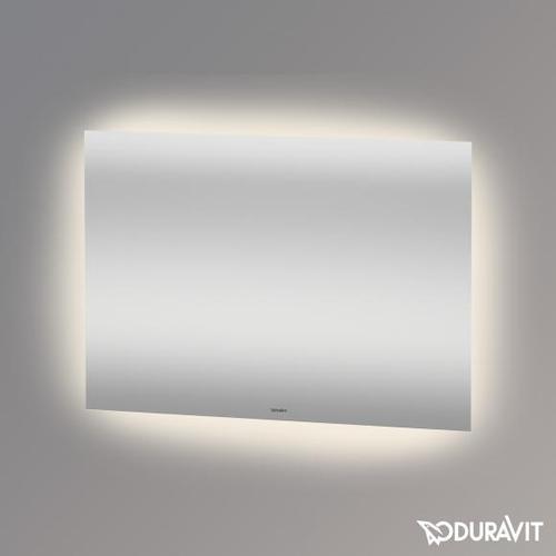 Duravit Spiegel B: 100 H: 70 T: 3,3 cm mit indirekter LED-Beleuchtung Good-Version LM780700000, EEK: A+